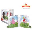 Bunnykins Wooden Bookends By Royal Doulton