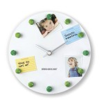 Magnetic frogs Memo Clock