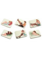 Rectangle Coaster Set of 6