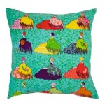"""Lots Of Ladies"" Square Cushion Cover"