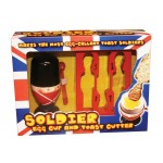 Soldier Egg Cup & Toast Cutter
