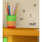 Fun Mini Emotion Wall Art Stickers