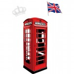 British Red Phonebox Wall Art Sticker