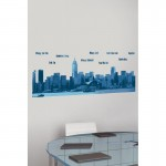 Hong Kong Skyline Wall Art Sticker