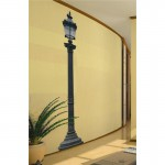 Giant French Lamp Post Wall Art Sticker