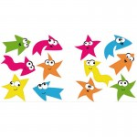 Multi-coloured Stars And Arrows Fun Wall Art Stickers
