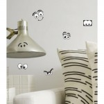 """Funny Eyes"" Fun Wall Art Mini Stickers"