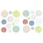 Multi-coloured Balls Wall Art  Stickers