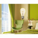 Light Up Bulb Wall Art Sticker