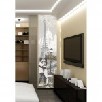Paris Monuments Wall Art Sticker