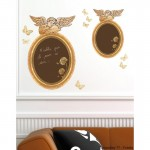 Angelo Mirror Chalkboard Wall Art Sticker