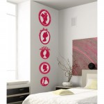 Portraits of Madame La Marquise Large Wall Art Stickers